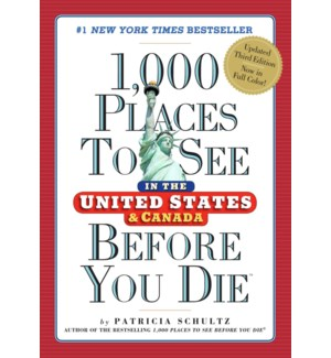 1000 PLACES TO SEE USA & CANADA 3RD ED