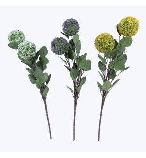 Artificial Flower Stem, 3 Assorted