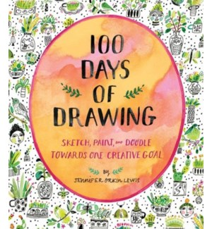 100 Days of Drawing (Guided Sketchbook)