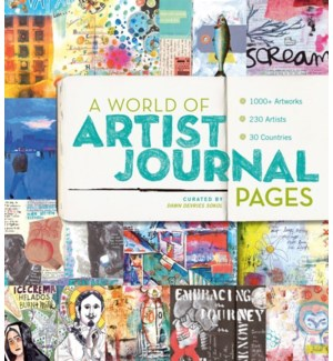 A World Of Artist Journal Pages: 1000+ Pages | 230 Artists | 30 Countries