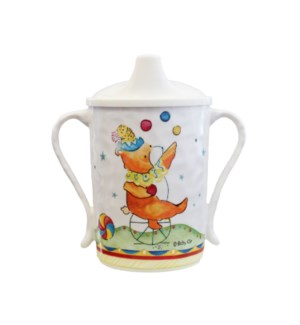 AMUSES-TOI 'ENJOY YOURSELF' TEXTURED SIPPY CUP