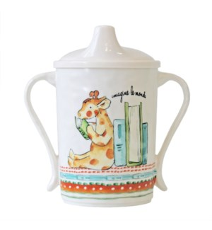 IMAGINE LE MONDE 'IMAGINE THE WORLD' TEXTURED SIPPY CUP