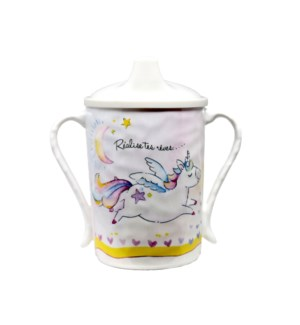 REALISE TES REVES 'REALIZE YOUR DREAMS' TEXTURED SIPPY CUP