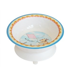 DANS L' AIR 'UP IN THE AIR' TEXTURED SUCTION BOWL