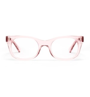 BIXBY - POLISHED CLEAR PINK / 0