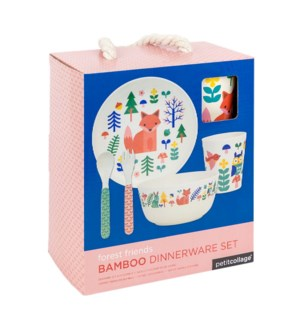 Bamboo Baby Dinner Set Forest