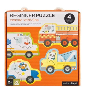 Beginner Puz Rescue Vehicles