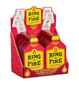 Card Game Ring of Fire CDU of 6