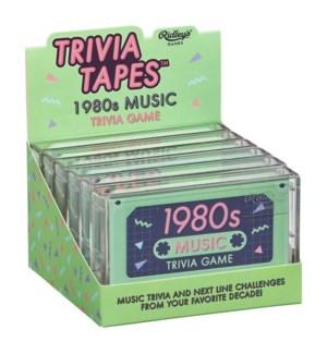 80s Music Trivia Game CDU of 6