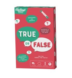 Game True or False