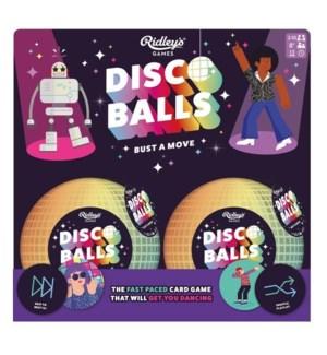 Game Disco Balls CDU of 6