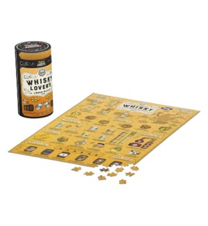 Jigsaw Puz 500pc Whisky Lover's