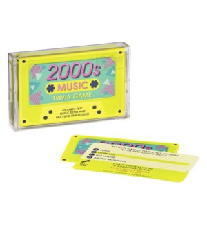 Quiz Music Trivia Tape 2000s