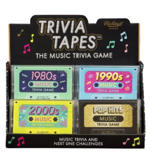 Quiz Music Trivia Tape Empty CDU
