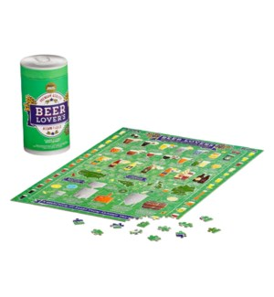 Jigsaw Puz 500pc Beer Lover's