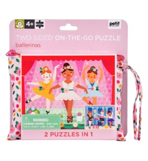 Jigsaw Puz 2 Sided Ballerina
