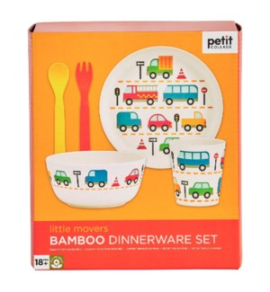 Bamboo Baby Dinner Set Little Movers
