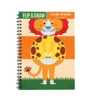 Flip & Draw Jungle Animals