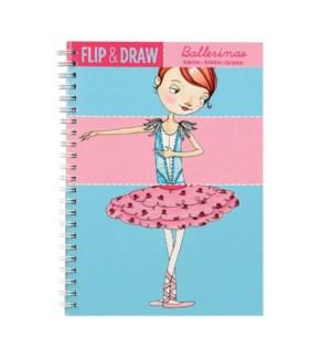 Flip & Draw Ballerinas