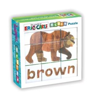 Block Puzzle Eric Carle Brown Bear...
