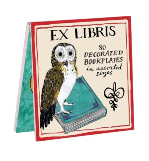 Bk Labels Molly Hatch Owl Bookplates