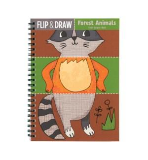 Flip & Draw Forest Animals
