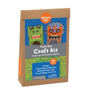 Dinosaurs Rule! Paper Bag Craft Kit