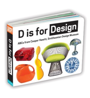 D for Design Cooper Hewitt Board Bk