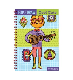 Flip & Draw Cool Cats
