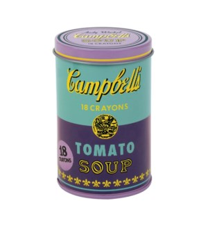 Crayons Warhol Soup Purple