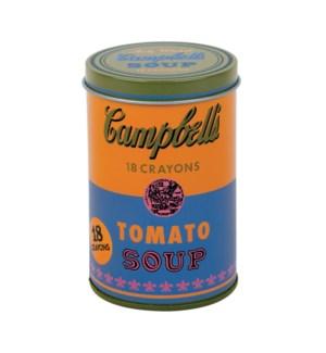 Crayons Warhol Soup Orange