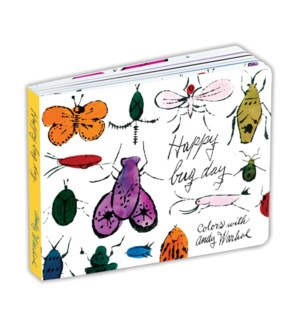 Andy Warhol Happy Bug Day Board Bk