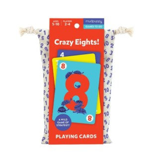 Game Cards To Go Crazy Eights