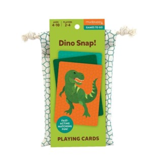 Game Cards To Go Dino Snap