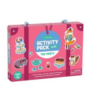 Activity Pack to Go Tea Party