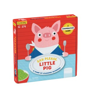 Game Board Say Please, Little Pig