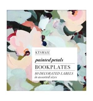 Bk Labels Painted Petals