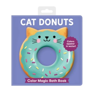 BK Bath Cat Donuts Color Magic