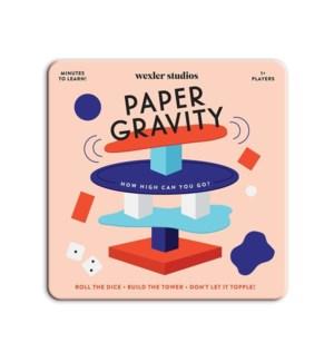 Board Game Paper Gravity