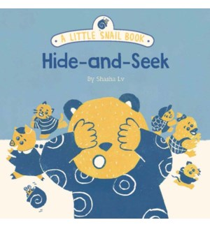 A Little Snail Book: Hide-and-Seek bb