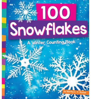 100 Snowflakes: Winter Count Bk