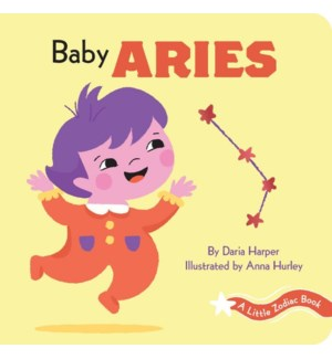 A Little Zodiac Book: Baby Aries bb
