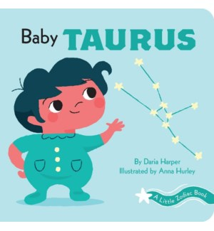 A Little Zodiac Book: Baby Taurus bb