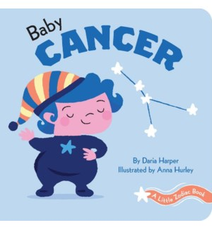 A Little Zodiac Book: Baby Cancer bb
