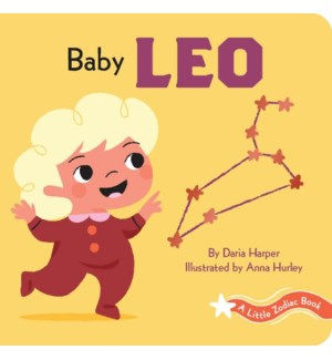 A Little Zodiac Book: Baby Leo bb