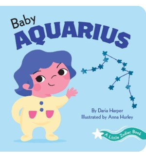 A Little Zodiac Book: Baby Aquarius bb