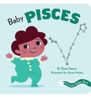 A Little Zodiac Book: Baby Pisces bb