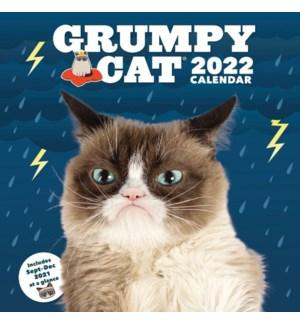 2022 Wall Cal: Grumpy Cat