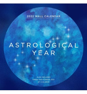 2022 Wall Cal: Astrological Year