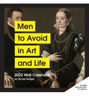 2022 Wall Cal: Men to Avoid in Art and Life